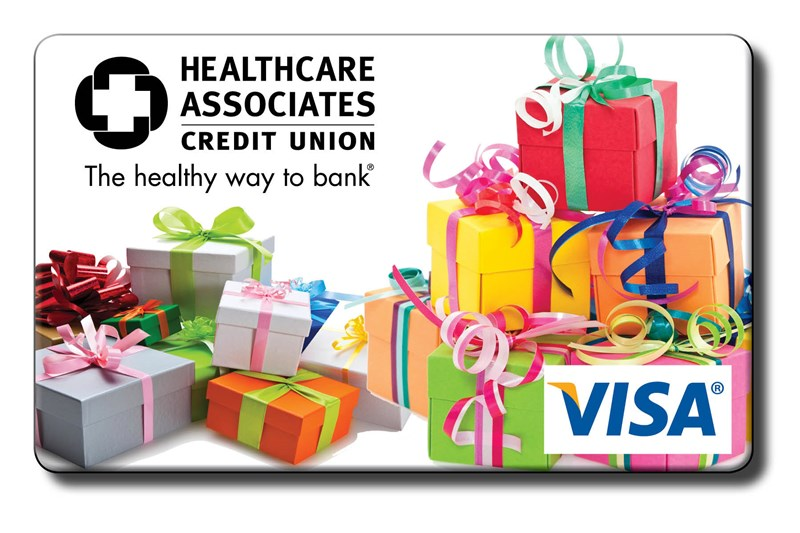 Visa Gift Cards Credit Union Gift Cards Healthcare Associates